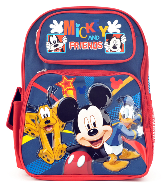 Mickey Mouse Large Backpack (Bp5207/24)