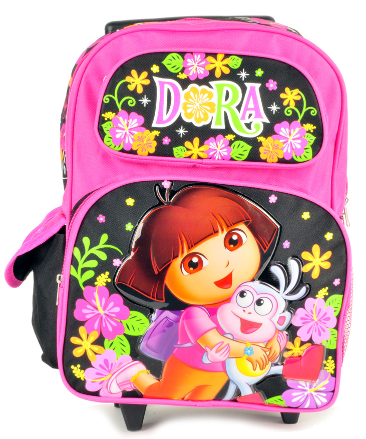 Dora Large Rolling Backpack (De05221/6)
