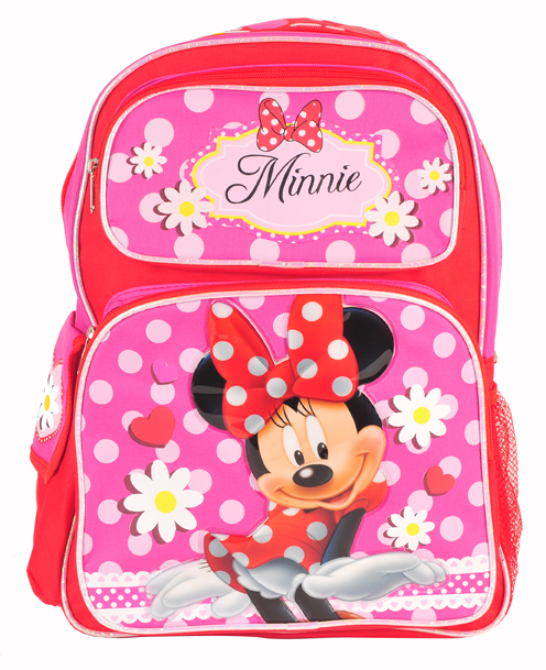Minnie Mouse Large Backpack (MN5247/24)