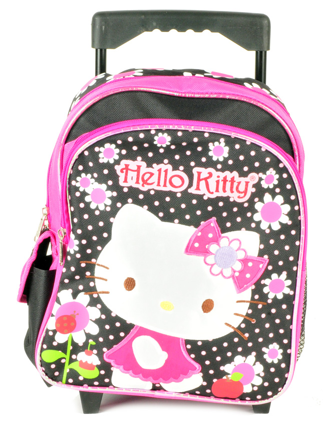 Hello Kitty Toddler Rolling Backpack (HK05283/12)