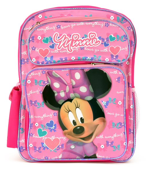 Minnie Mouse Large Backpack (Bp5404mn)