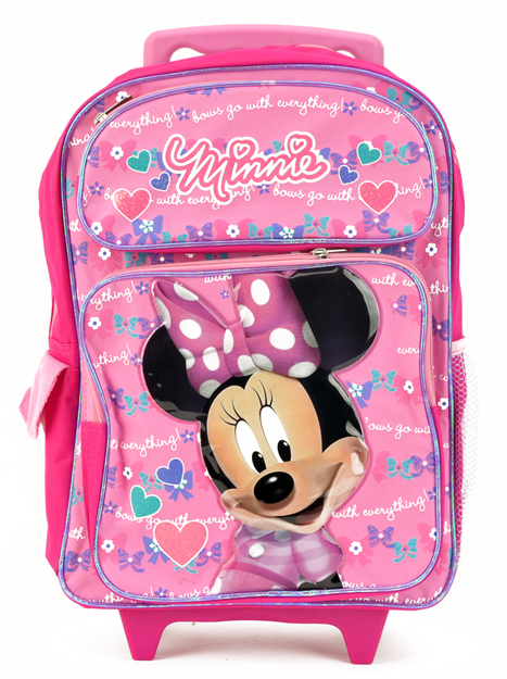Minnie Mouse Large Rolling Backpack (Bp5405mn)
