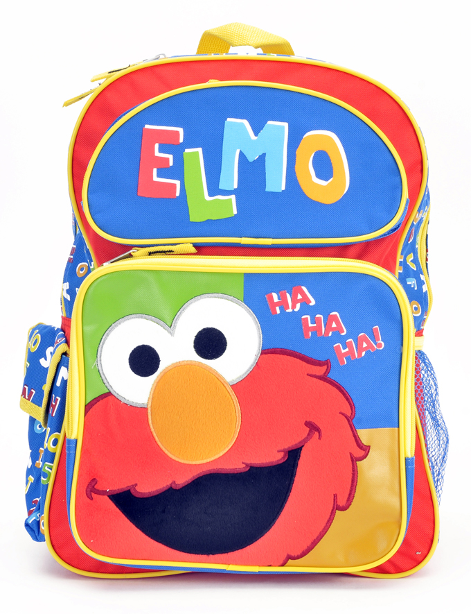 "Elmo 16"" Large Backpack (05456)"