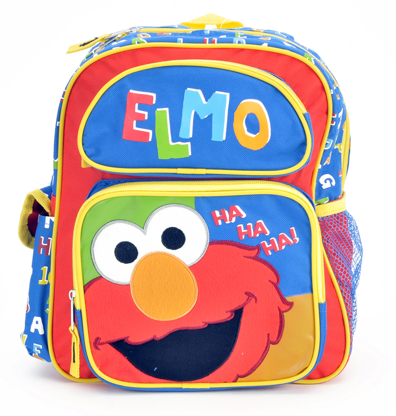 "Elmo 14"" Toddler Backpack (05457)"