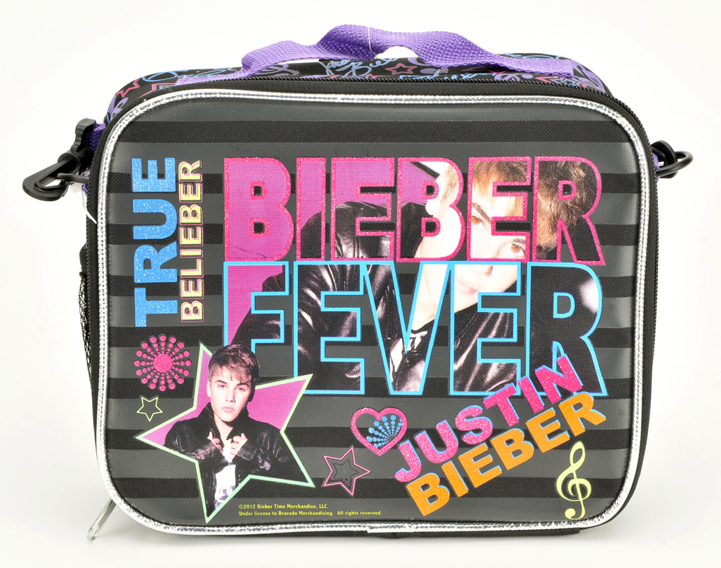Justin Bieber Insulated Lunch Bag (05475)