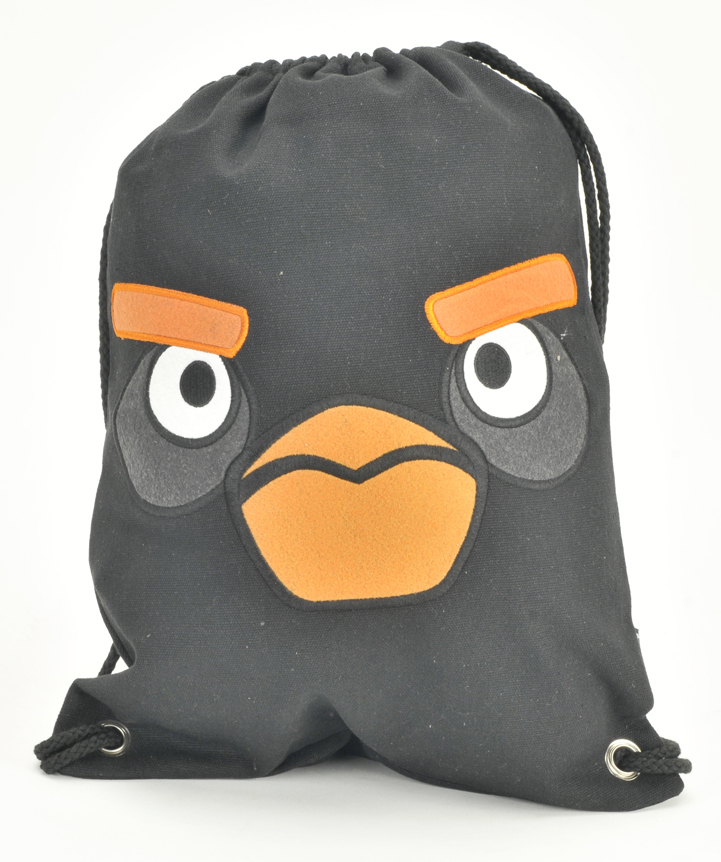 Angry Bird Drawstring Backpack (05663)