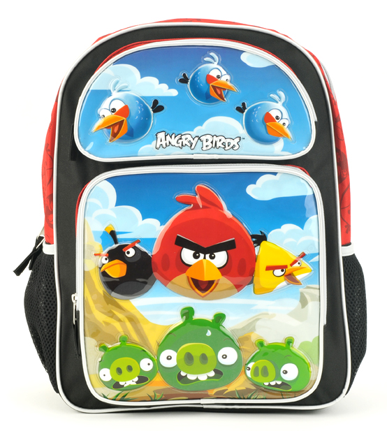 Angry Bird Large Backpack (An10619/3)