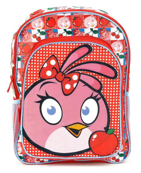 Angry Bird Large Backpack Light Up(Ablt13f/12)