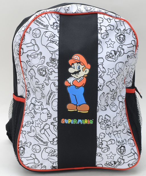 Mario Large Backpack W/WH #B11nn6247