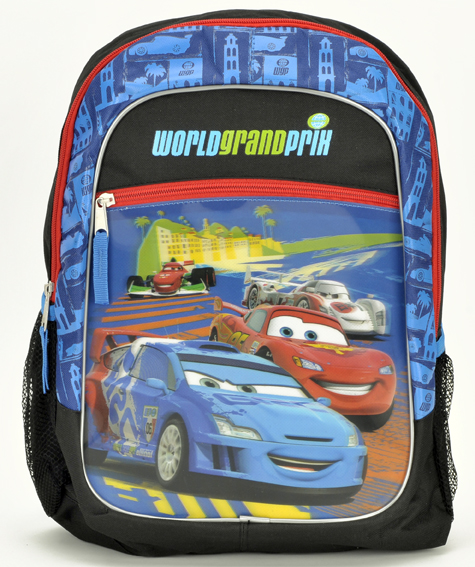 Cars Large Backpack #Ca21010/36 & 32935BL