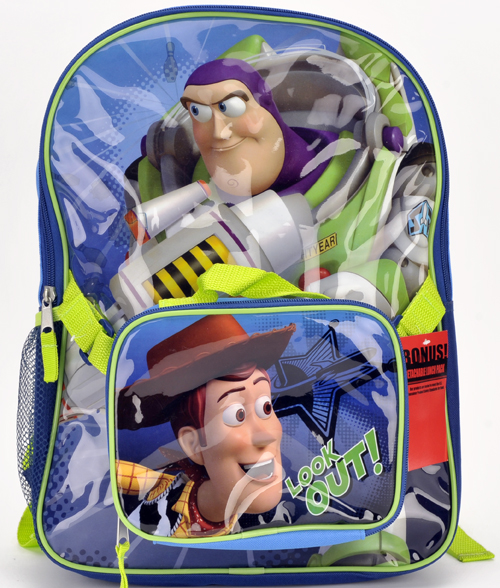 Toy Story Large Backpack with Detachable Lunch Bag