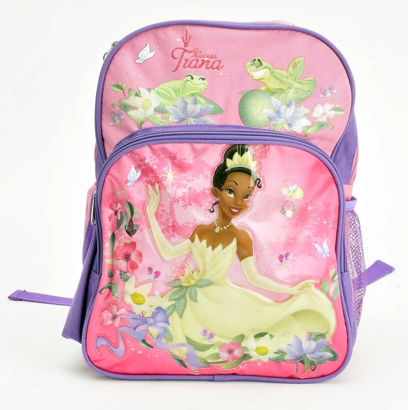 "Princess and the Frog 14"" Toddler Backpack (50415)"