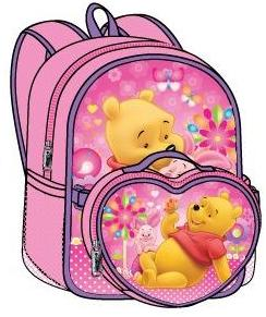 Winnie the Pooh Large Backpack with Detachable Lunch Bag (50472/