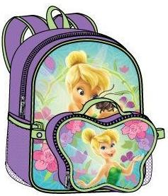 Tinkerbell Large Backpack with Detachable Lunch Bag (50477/24)