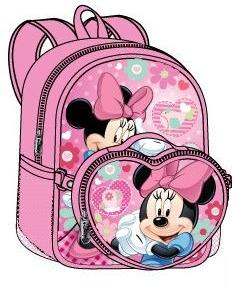 Minnie Mouse Large Backpack with Detachable Lunch Bag (50489/24)