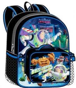 Toy Story Large Backpack with Detachable Lunch Bag (50507/24)
