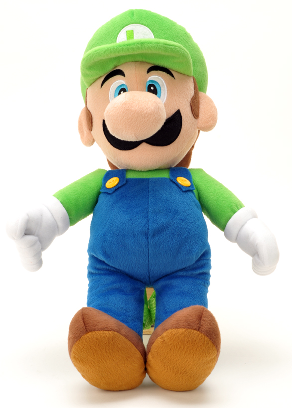 Luigi Plush Backpack #Sm03556