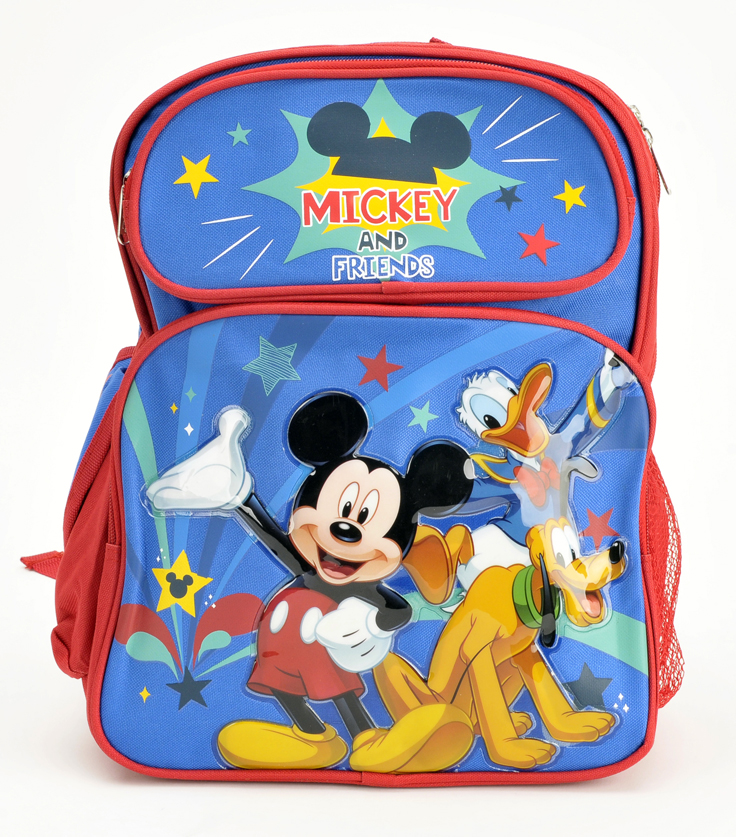 "Mickey Mouse and Friend 14"" Fullsize Backpack (61551)"