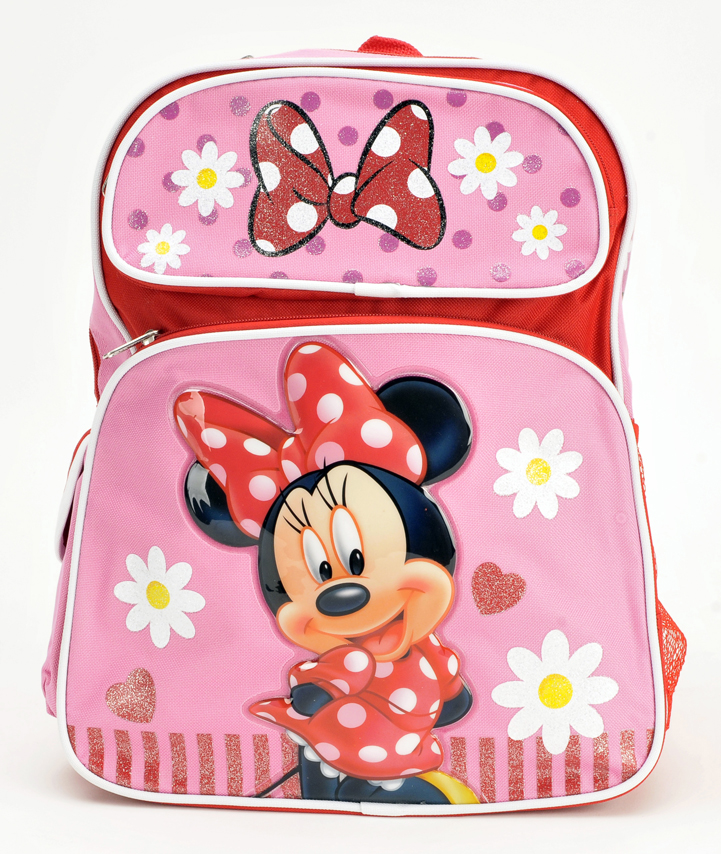 "Minnie Mouse 16"" Large Backpack (61590)"