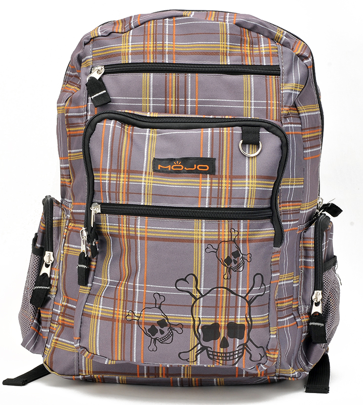 Stylish Checkers Large Backpack (80524)