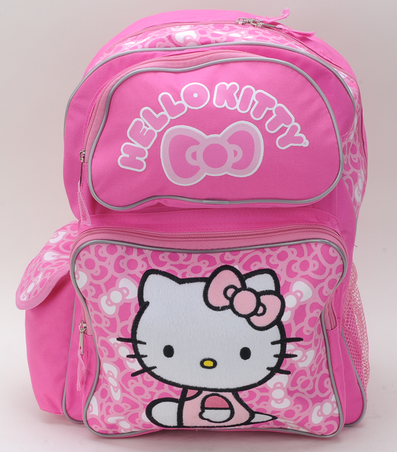 "Hello Kitty Bow Large Backpack 16"" (80989/36)"