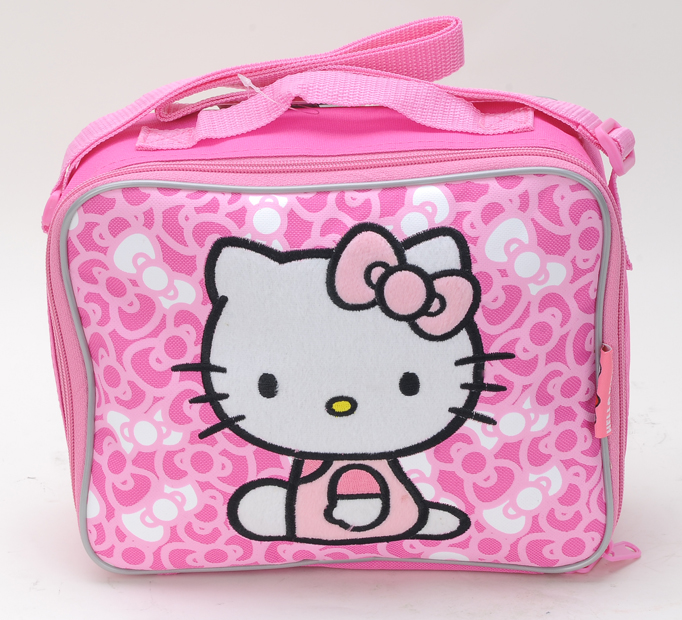 Hello Kitty Bow Lunch Kit w/Strap (81129/48)