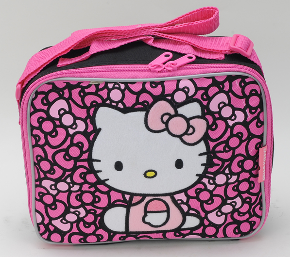 Hello Kitty Bow Lunch Kit w/Strap (81136/48)