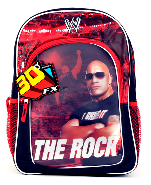 "WWE ""The Rock"" Large Backpack (82038/24)"
