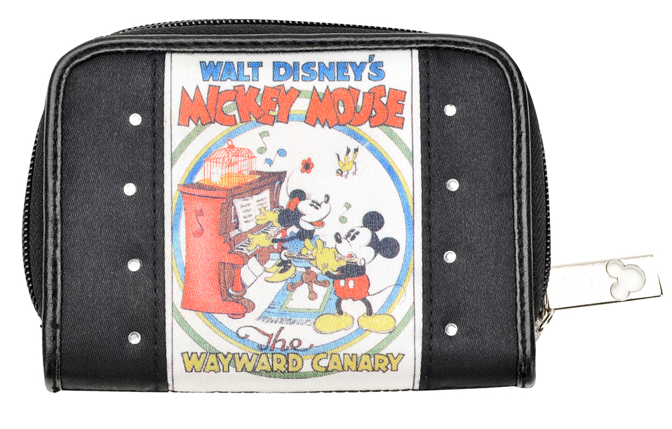 Mickey Mouse Bifold Wallet with Zipper