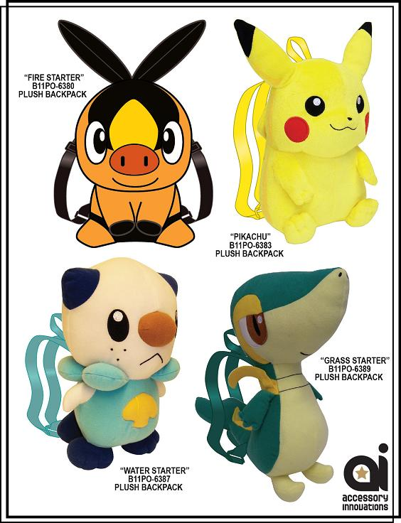 Pokemon Plush Group