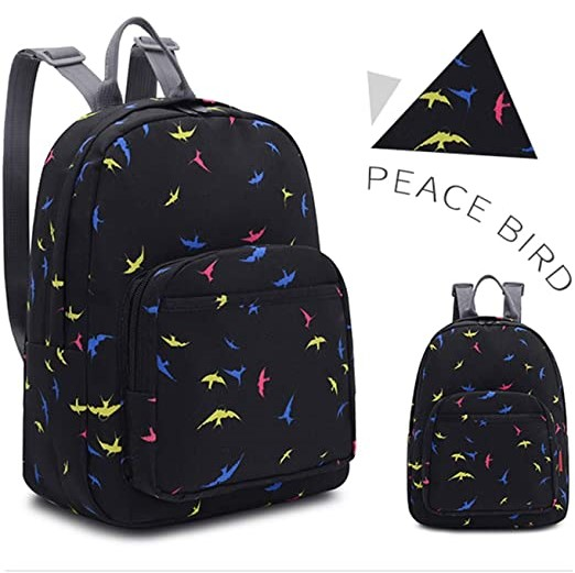 "Bravo! BTS Classic 11"" Backpack - Peace Bird"
