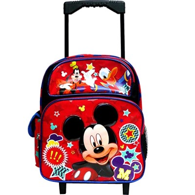 "Disney Mickey Mouse & Friends 12"" Rolling Backpack"