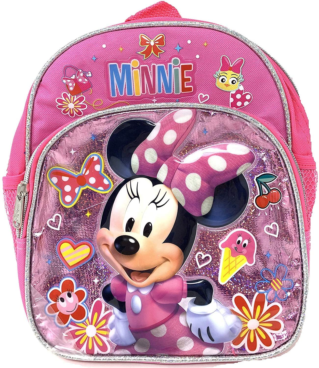 "Disney Minnie Mouse 10"" Toddler Mini Backpack (Pink)"