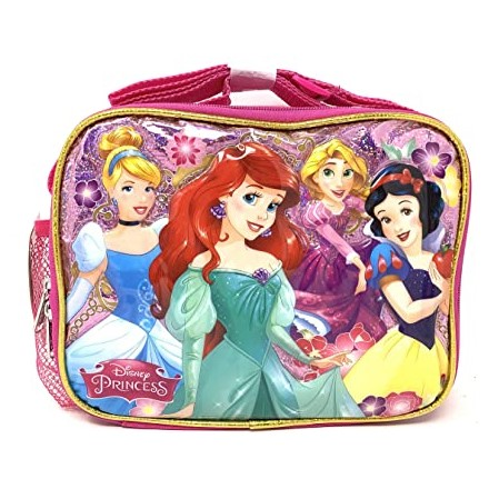 Disney Princess Mermaid & Snow white Soft Lunch Box