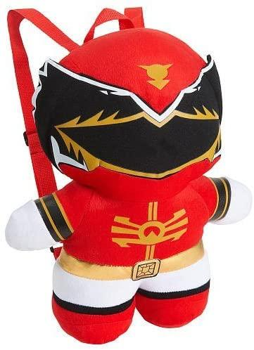Power Ranger Kawaii 16 Inch Plush Doll Backpack - Red Ranger