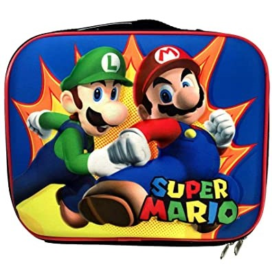 Super Mario Characters Lunch Bag