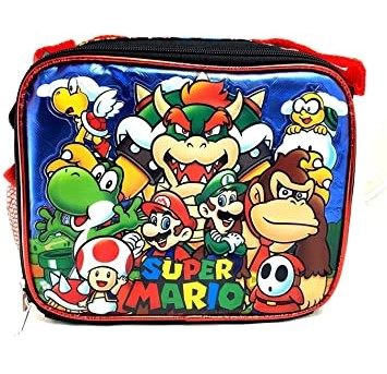 Super Mario 3D Bros Insulated Lunch Box Bag