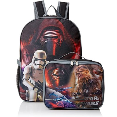 Star Wars The Force Awakens Backpack with Lunch Box