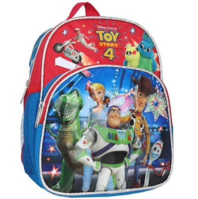 Toy Story 4 Woody Buzz Rex Forky 10 inches Mini Backpack